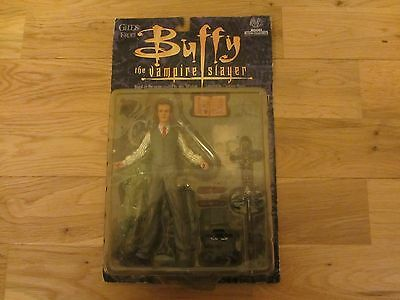 Buffy The Vampire Slayer Giles Moore Collectibles Action Figure Boxed New