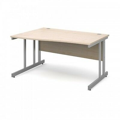 Stylish Office Wave Desk 5 Colours 6 Sizes