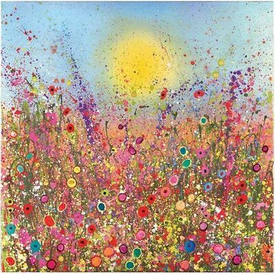 "Signed Yvonne Coomber Limited Edition Print ""Into The Mystic"""