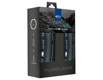 Schwalbe Pro One Tubeless TL-Easy Tire Kit 700x25