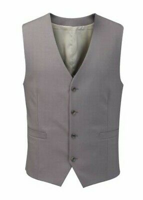 Skopes Wool Rich Ohio Waistcoat In Taupe