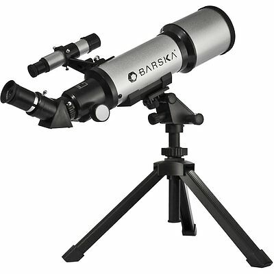 Tripod Compact Refractor Telescope Astronomical Table Top Deep Sky Software New