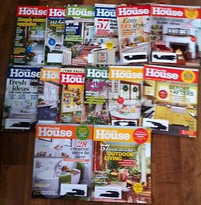 Lot Of 14 This Old House Magazines From 2013 2014 2015