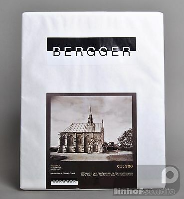 Bergger COT320 Art Photographic Paper 16 x 20 25 sheets for Alternative Printing