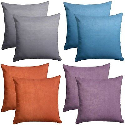 "Soft Touch Snake Skin Effect Modern 18"" Cushion Covers £4.49 Each 5 Colours"