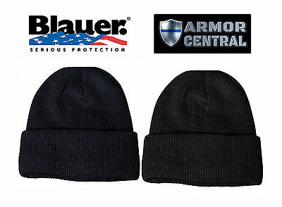 New Blauer Watch Cap - Black or Navy - One Size Fits All - 125