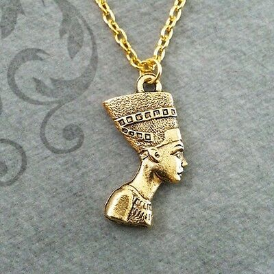 Womens Necklace Egyptian Necklace Egyptian Jewelry Gold Pendant Necklace Jewelry