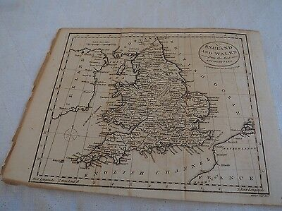 Ant. Map, England and Wales from the Best Authorities,