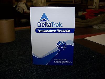DeltaTrak Temperature Recorder 20 EA Model: 10 Day Recorder
