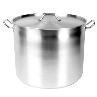 Thunder Group 100 QT 18/8 STAINLESS STOCK POT W/ LID 1 Piece