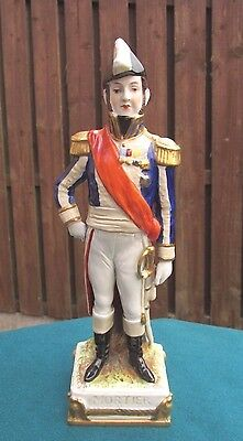 "Scheibe Alsbach German Military Figure Napoleonic ""marshall Mortier"" - Perfect!"