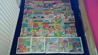 Roy of the Rovers Vintage Comic Joblot X 20 1985