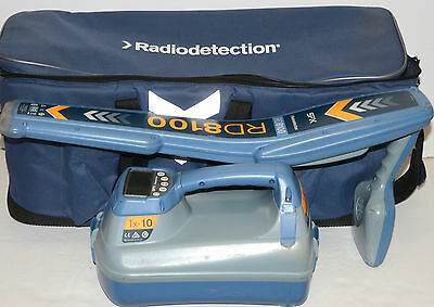 Radiodetection RD8100 PDL T10   Utility Underground Cable Pipe Locator