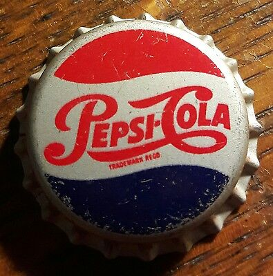 1950's JAMAICA PEPSI COLA soda bottle cap unused cork