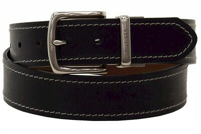 Tommy Hilfiger Men's Black/Brown Genuine Leather Reversible Belt