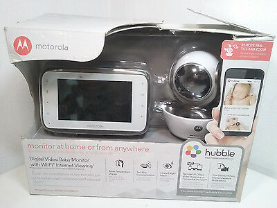 Motorola MBP854CONNECT Dual Mode Baby Monitor 4.3-Inch LCD Parent [EBK6-MBC4]