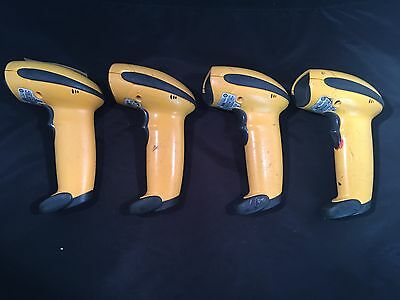 Lot of 4x Symbol LS3008 Barcode Scanner LS3008-SR20005ZZR