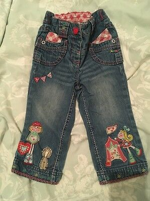 NEXT Baby Girls Beautiful Jeans Age 12-18 Months 1-1.5 Years