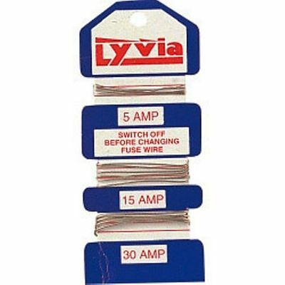 Household Lyvia Fuse Wire 5A 15A 30A Fuse Box Popular Wireable Fuses Electrical