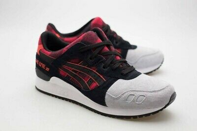 finest selection dae30 bebb4 ASICS TIGER MEN Gel-Lyte III red black H6Y0L-2490