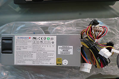 Supermicro PWS-203-1H 200w MULTI OUT PSU FOR 1U -80PLUS GOLD