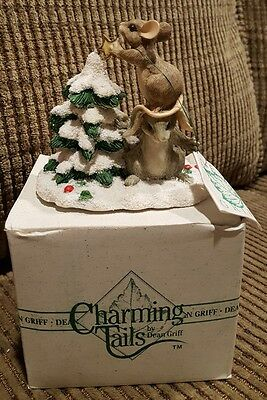 """Charming Tails Mice, Handcrafted For Silvestri, """"Teamwork Helps"""""""