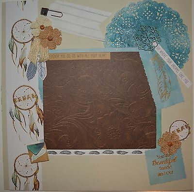 Handmade Scrapbook Page - Go Where Your Dreams take You