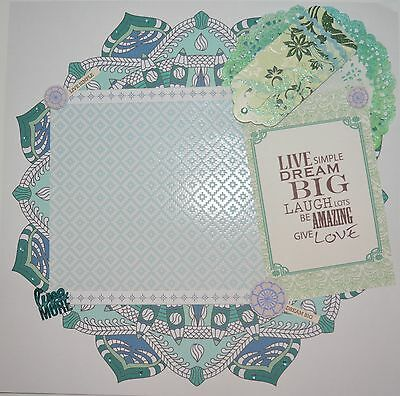 Handmade Scrapbook page - Laugh lots, Be Amazing