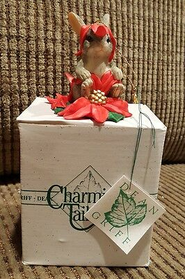 Charming Tails By Dean Griff Christmas Flowers Ornament ~ -87304
