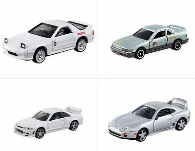 Tomica #168 Initial D Mazda RX-7 #170 S13 Silvia #13 GT-R #14 Toyota Surpa