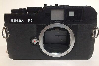 Voigtländer BESSA R2 35mm Rangefinder Film Camera Body Only Black Voigtlander