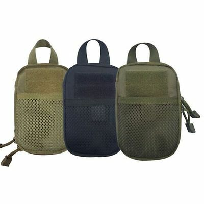 Military 1000D Nylon Molle Tactical Utility Pouch Waist Bag Black Outdoor Sport
