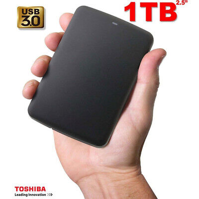 "DISCO DURO EXTERNO 1TB CANVIO BASICS USB 3.0 PORTABLE 2.5""/Cover FOR TOSHIBA*"