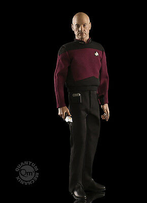 Star Trek Captain Jean-Luc Picard 1:6 Scale Articulated Figure Quantum Mechanix
