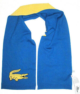 Kids Boys Lacoste Ultramarine Large Croc Scarf