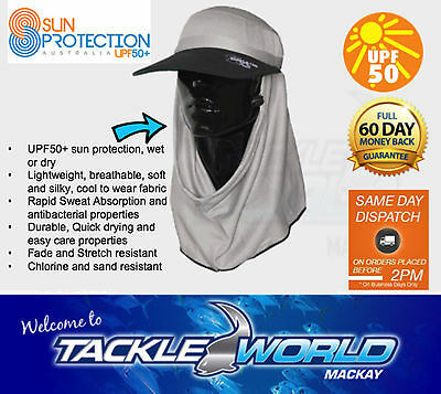 SUN PROTECTION Fishing Hat Frillneck Adapt-A-Cap UPF50+ ACKLE WORLD