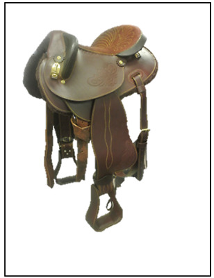 Western Half Breed Stock Saddle
