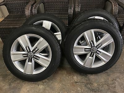 Vw transporter New Alloy wheels And Tyres