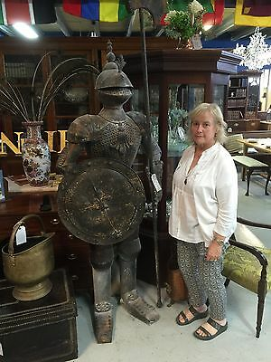 Suit Of Armour Eight Feet High