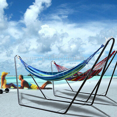 Hammock With Steel Stand Double Includes Portable Carrying Bag High Quality Hot