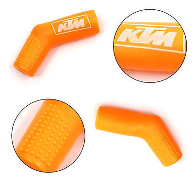 Motorcycle KTM Street Bike Rubber Gear Shift Shifter Sock Cover Boot Protector