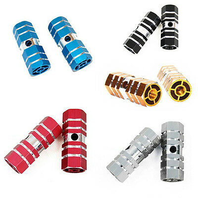Pedal Alloy Aluminum Pegs New Axle Mountain Fashion Foot 1 Pair Bicycle Bike