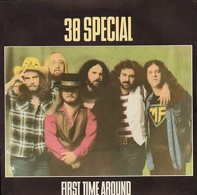 "38 Special(7"" Vinyl P/S)First Time Around-A&M-AMS 8155-UK-1981-Ex+/Ex+"