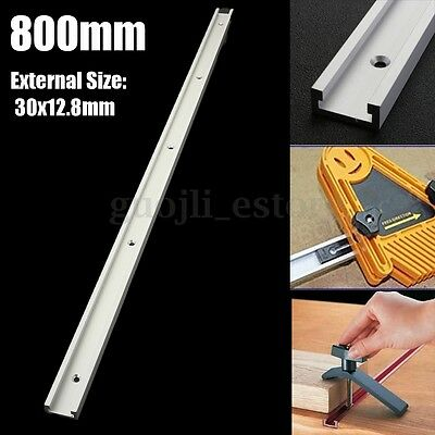 800mm T-tracks Slot Miter Track Jig Fixture for Router Table Woodworking Tool