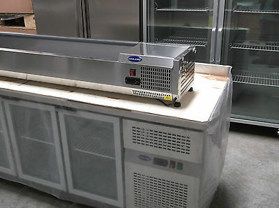 VRX2000/330 2.0m Stainless Steel PREP TOP 10x1/4GN Size Cold Bar ONLY WARRANTY
