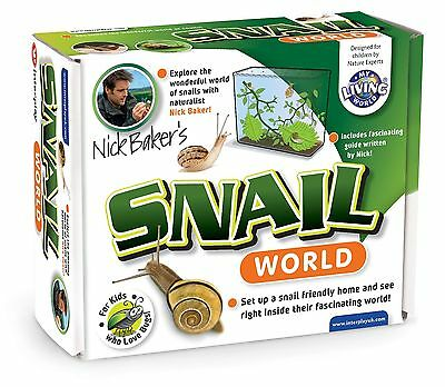 My Living World Snail World NEW *FAST DELIVERY*