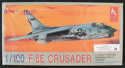 HOBBY CRAFT HC1161 - F-8E CRUSADER - 1:100 - Flugzeug Modellbausatz - Model KIT