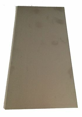 """1/4"""" Stainless Steel Plate, 1/4"""" x 7"""" x 8"""", 304 SS"""