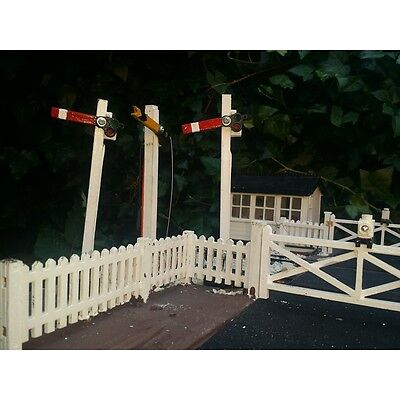 Three Semaphore Signals for Garden Railway 16mm Scale SM32 G45 Narrow Gauge.
