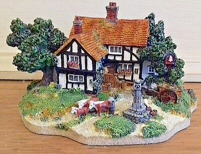 The Bell Inn, from country village collection,  Danbury Mint, boxed with cert.